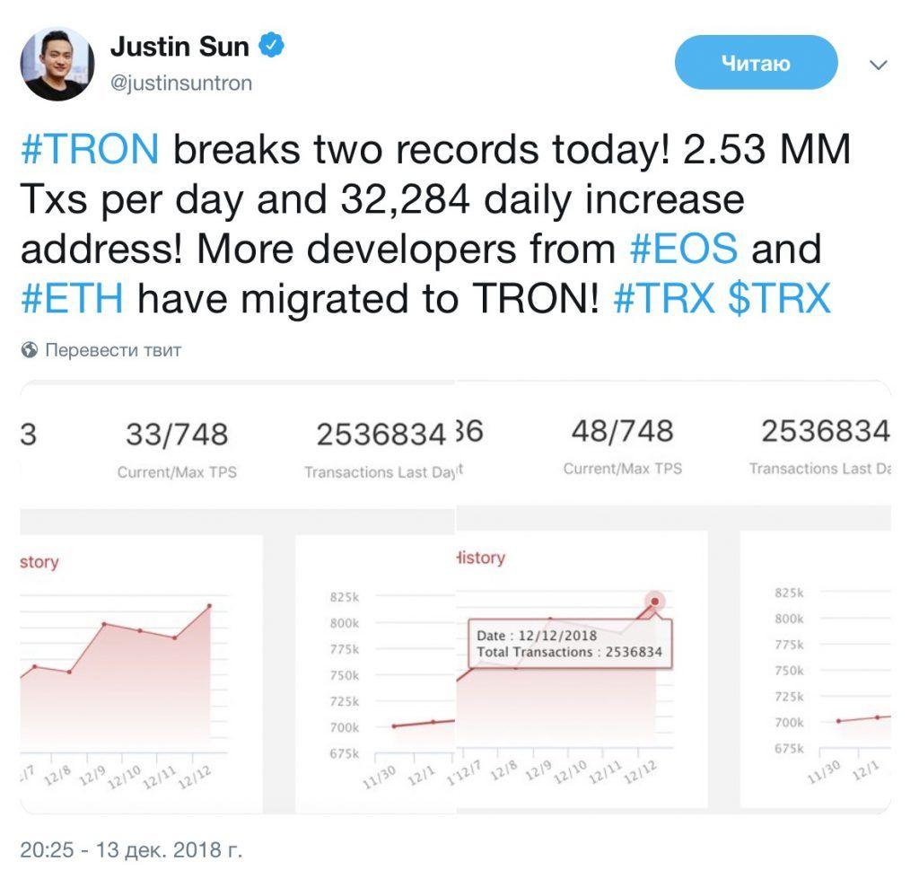 Justin-sun-o-novih-recordah-tron-bitbetnews