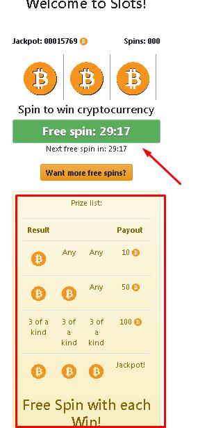 Bitcoinsfor-freespins
