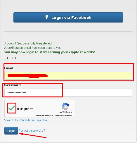Bitcoinsfor-login