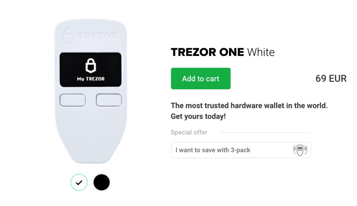 купить trezor one