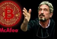 Джон МакАфи делает новый прогноз относительно стоимости Bitcoin до конца 2020 года
