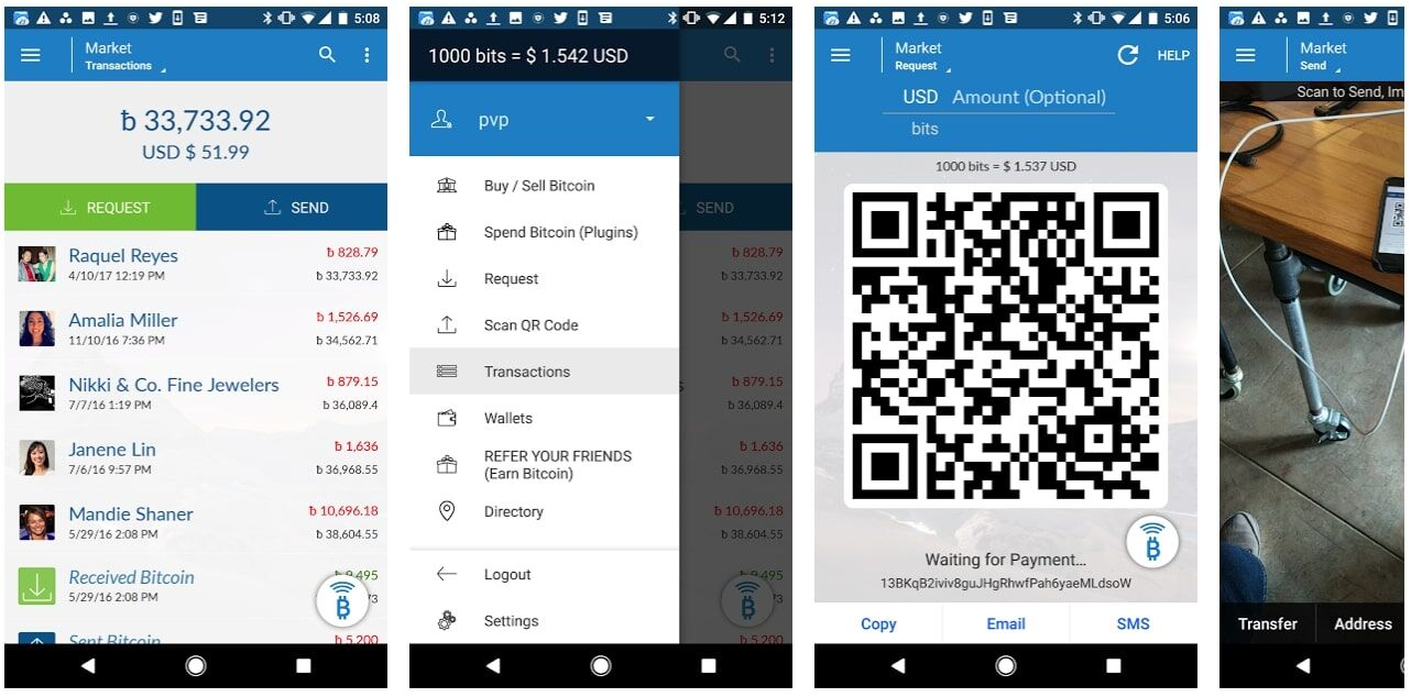 Airbitz wallet android