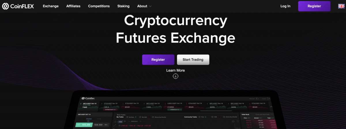 Coinflex - cryptocurrency futures Exchange
